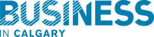 Business in Calgary blue logo